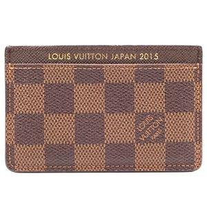Damier Ebene Japan 2015 Classic  Case Wallet